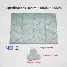 Section 3 section 18650 lithium-ion battery pack insulation product glyph surface mat triangle plum flower form of highland ba