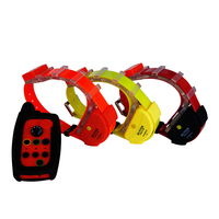WATERPROOF DOG GPS TRACKER COLLAR FOR 3 DOGS WITH OUT SIM CARD
