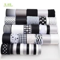 High Quality 37 Design Mix Black White Gray Ribbon Set For Diy Handmade Craft Packing Hair