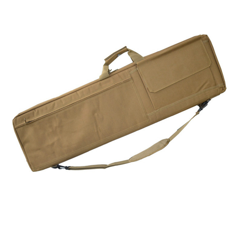 85cm 100cm Tactical Gun Bag Heavy Slip Carry Bag Rifle Case Shoulder Pouch Hunting Rifle Gun Backpack With Movable Cushion Pads in Hunting Bags from Sports Entertainment