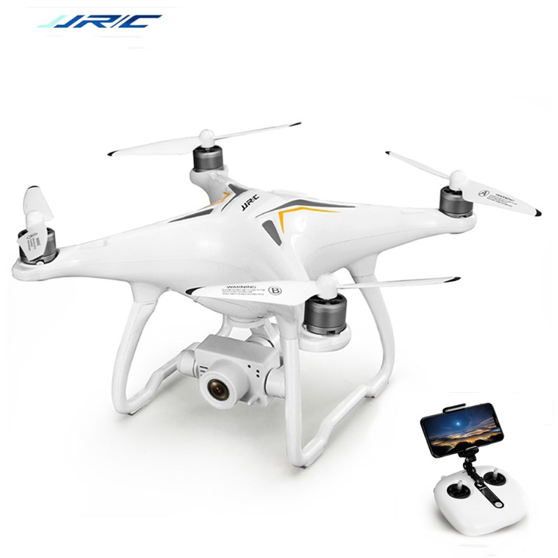 JJRC X6 Remote Control RC Quadcopter Aircus GPS RC Drone Dron Two-Axis Stabilization PTZ Gimbal 1080P UAV Follow Me Helicopters