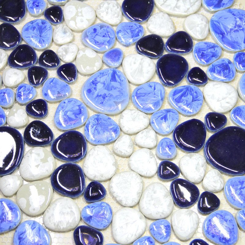 pietra backsplash piastrelle-acquista a poco prezzo pietra ... - Blu Piastrelle Del Bagno Mosaico