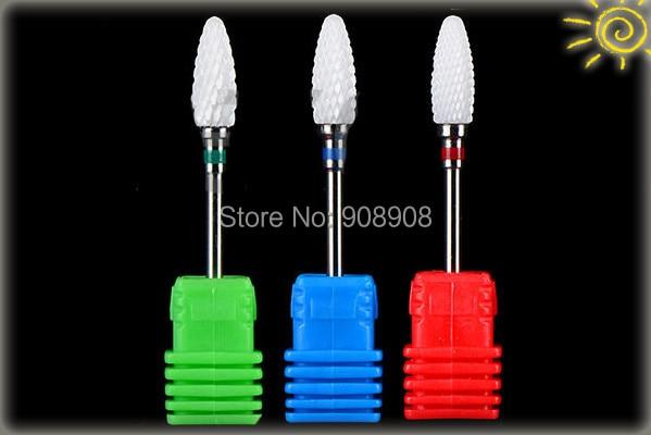 Tasuta kohaletoimetamine keraamiliste küünepuurfailide küünte - Abrasiivtööriistad - Foto 3