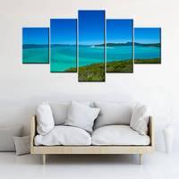 עיצוב אמנות קיר נוף ימי נוף יפה אוסטרליה & נוף בית האופרה של סידני יצירות אמנות הדפסת בד ציור באיכות גבוהה