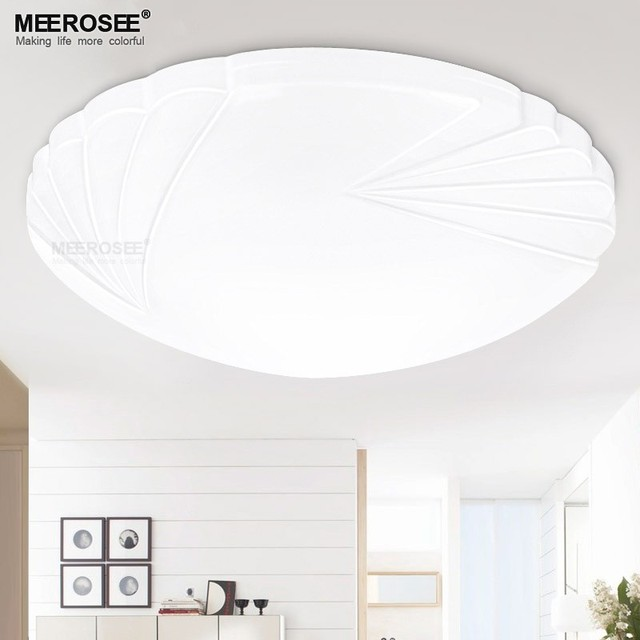 Contemporary Led Ceiling Light Fitting Small Lamparas Flush Mounted Round Lamp For Hallway Aisle Corridor