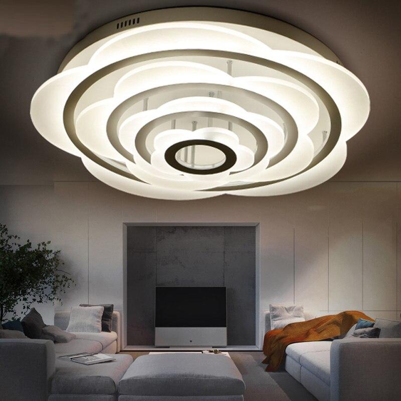 Moderne led slaapkamer plafond verlichting keuken woonkamer lamp ...
