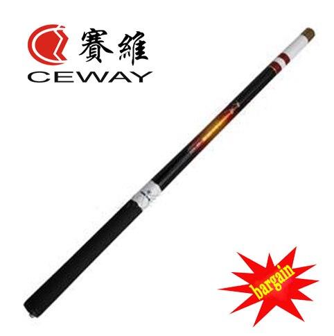 Carbon Stream Fishing Rod CEWAY TIANFENG II Mini Rod Pocket Portable Fishing Tackle Fishing Pole 9