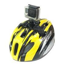 Casco della bici Cinture Duro Cappelli strap Mount di Gopro Hero 7 6 5 4 3 a7aaf1bfab77