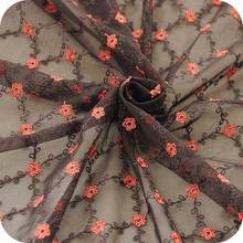 Coffee color matching laces embroidered hand-made DIY fabric skirt accessories recommended new products