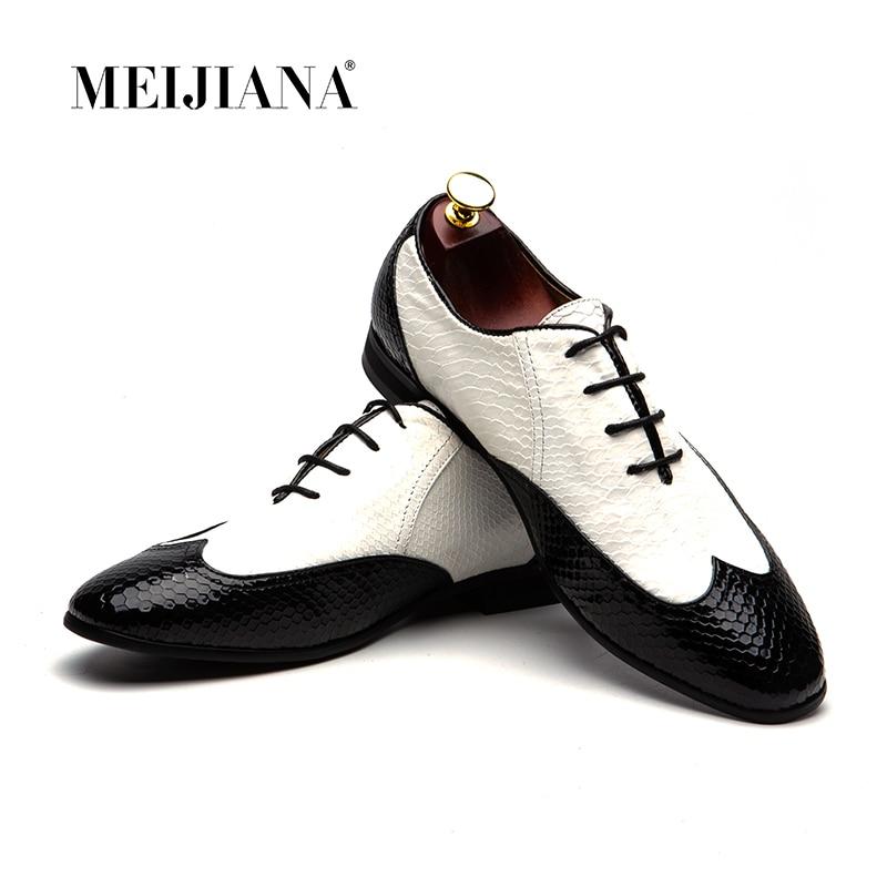 MeiJiaNa Fashion  Mens Formal Shoes  Leather Comfortable  Black Ltalian Men ShoesMeiJiaNa Fashion  Mens Formal Shoes  Leather Comfortable  Black Ltalian Men Shoes