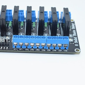 Image 2 - 10pcs TENSTAR ROBOT 8 Canali 5V Modulo Relè DC A Stato Solido A Basso Livello SSR AVR DSP 2A 240V