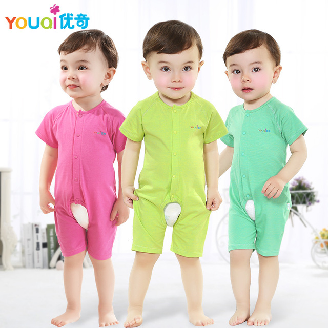 Youqi Baby Boy Clothes Cute Baby Girls Rompers Summer Toddler Infant