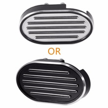 Motorcycle CNC Brake Pedal Pad Cover Fit For Harley Dyna Wide Sportster XL 883 1200 Custom Forty-Eight V-Rod Night Rod black motorcycle accessories cnc skull brake clutch levers for harley sportster xr xl1200 883 forty eight 2014 2015 2016