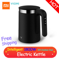 Xiaomi VIOMI Pro 1.5L Electric Kettle Intelligent Thermostat Anti scalding Household 304 Stainless Steel Electric Kettle 1800W
