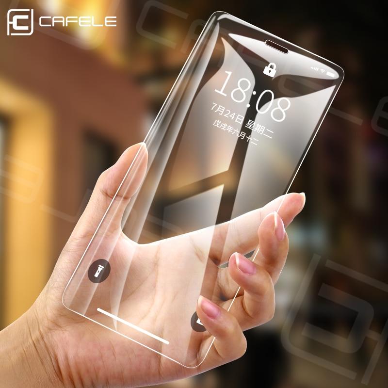 Cafele protecteur décran en verre trempé pour iPhone XR 6.1