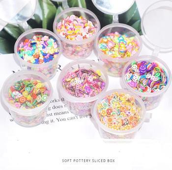 Relleno para comida en caja de rodajas de cerámica suave de 3 uds., diy, accesorios de material epoxi, Cenicero, carcasa de teléfono móvil