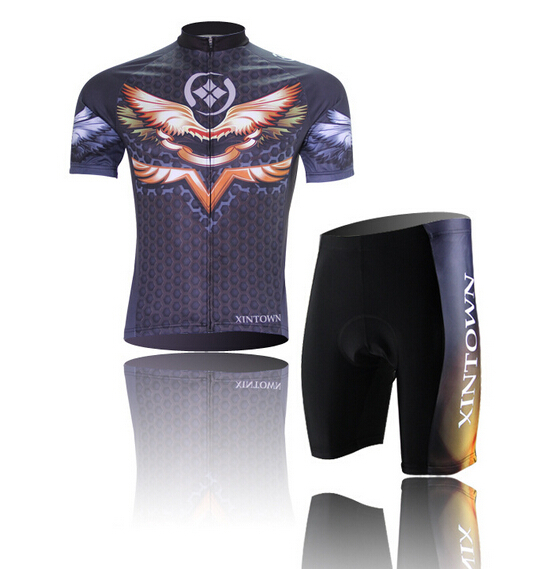ФОТО Cycling Jersey Clothes Bicicleta Mountain Bike Ropa Ciclismo Bicycle Short Sleeve Jerseys    Jersey Wing