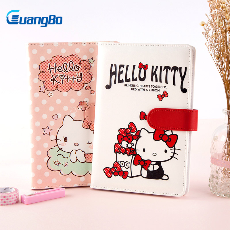 GUANGBO Traveler Notebook Diary Agenda Organizer Office and School Notes Book Diary Planner Journal Filofax Stationery 48 Sheets the original notebook sim portable models notebook diary book creative traveler hand accounting stationery notebook diary book