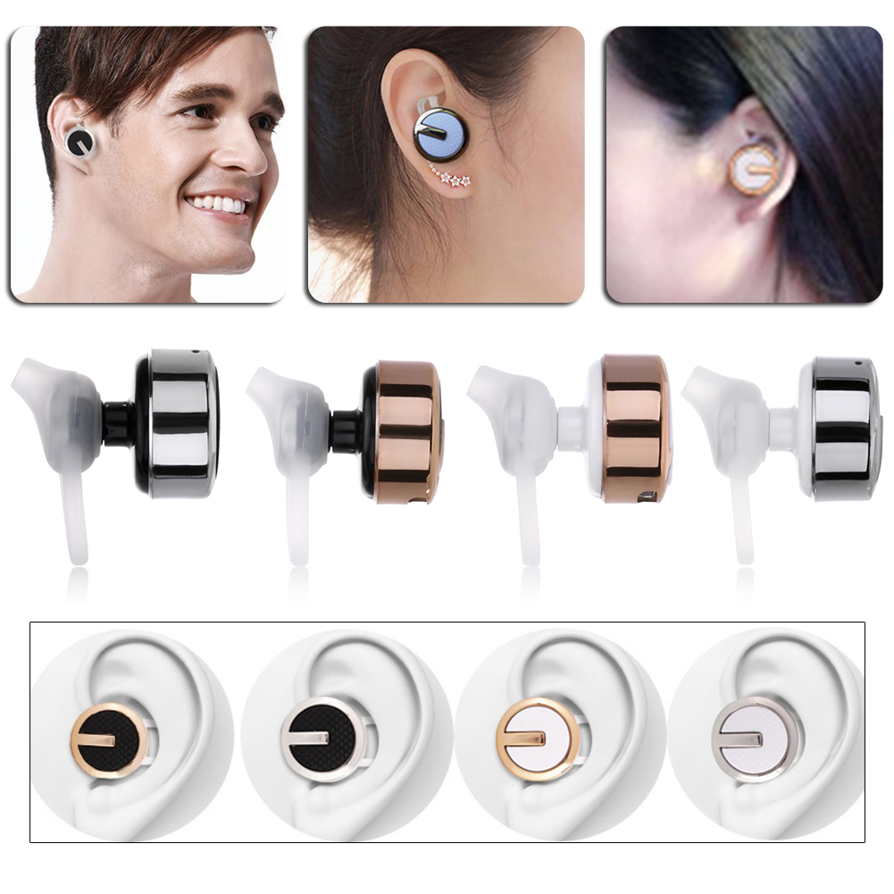 M99 Mini Wireless Headphone Bluetooth Earbud 4.1 Ultra Small In-ear Headset Stereo Earphones for Mobile Smart Phone Headset