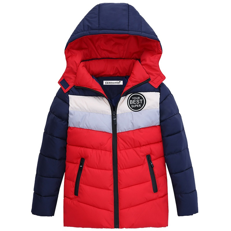 Winter Children Outerwear Baby Kids Jacket coat for boys girl Hooded Cotton-padded baby clothes russia 2016 children outerwear baby girl winter wadded jacket girl warm thickening parkas kids fashion cotton padded coat jacket
