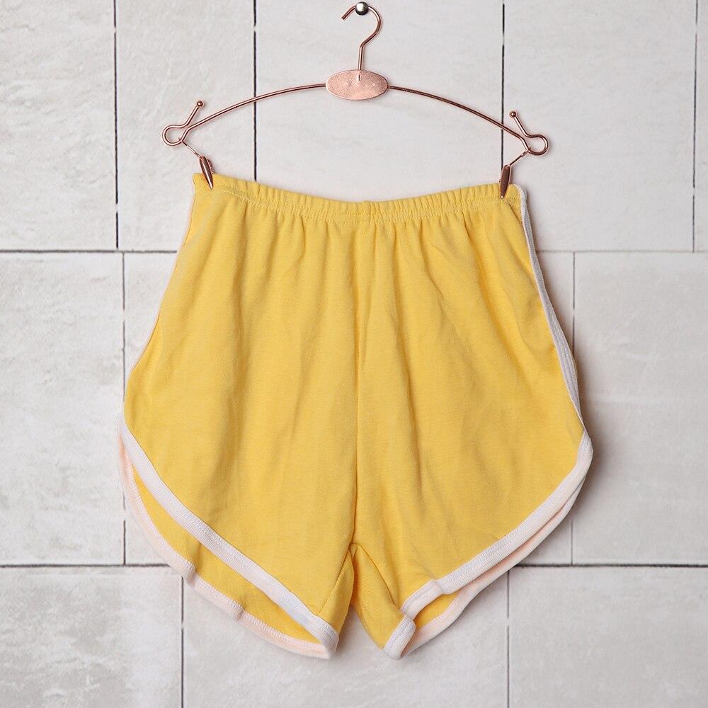 1 PC New Sumemr Fashion Women Elastic Waist Soft Cotton Breathable   Shorts   Casual   Shorts   Home Wear 8 Colors Hot Sale
