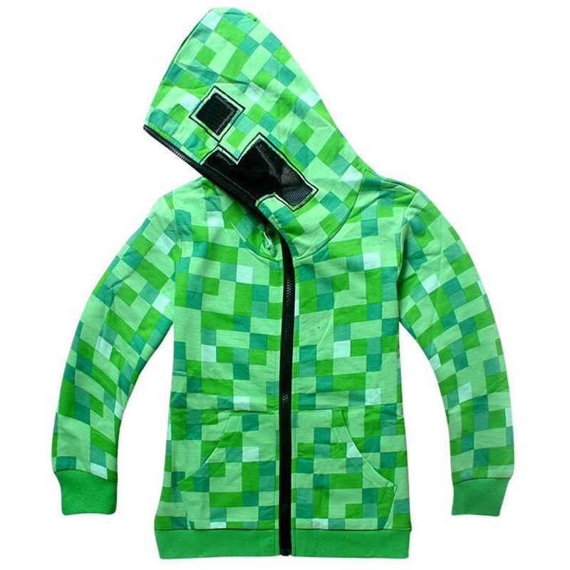 Roblox/пальто, футболка с длинными рукавами с героями мультфильмов Minecraft World, пальто gta 5 для мальчиков и девочек, топы, толстовки, пальто, толстовки с капюшоном Marshmello DJ Music