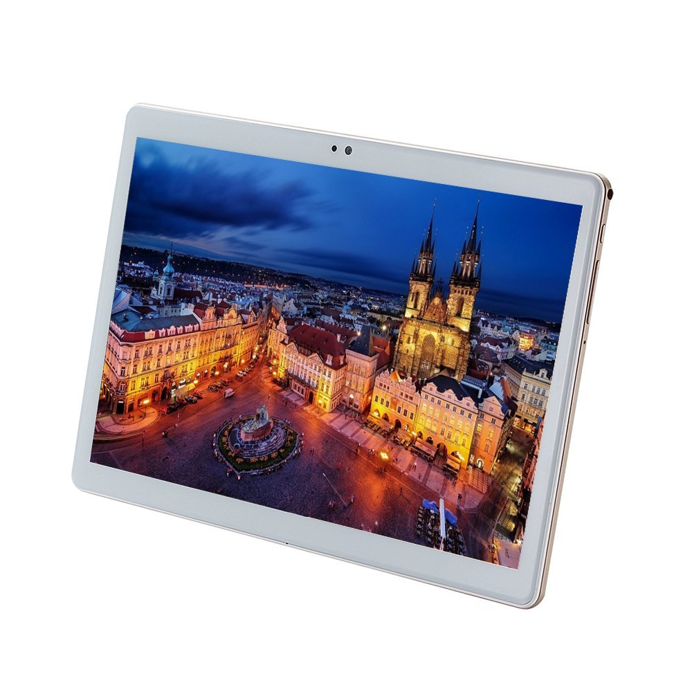 10.1 pouces tablette pc Deca 10 core MTK6797 3G 4G GPS Android 7 4 GB 64 GB/128 GB Phablet PC 10 double caméra 8.0MP 1920*1200 IPS écran