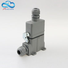 H10A - HA - 010-4 heavy duty connector 10 core and measure a single button aviation plug 16 a250v screw connection