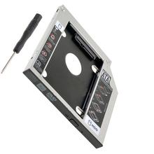 12 7mm SATA 2nd SSD HDD Caddy for Toshiba Satellite C660 C655 C650 C670 TS L633J