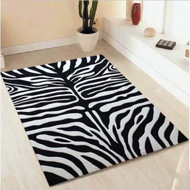 acquista all 39 ingrosso online zebra tappeto da grossisti zebra tappeto cinesi. Black Bedroom Furniture Sets. Home Design Ideas