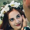 Bohemia Handmade Flower Crown Wedding Wreath Bridal Headdress Headband Hairband Hair Band Accessories for Women Lady Girl