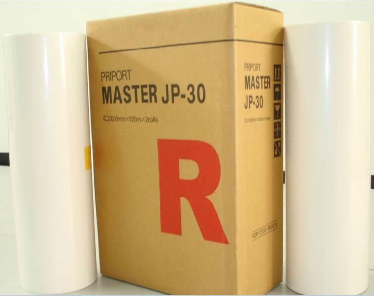 new Compatible stencil Master roll for Ricoh JP 30 A3 master copyprinter paper master school consumables