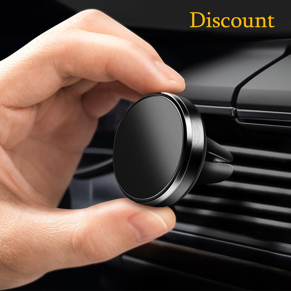 SYRINX Holder For Phone In Car Mobile Fastening Stand For IPhone X XS 6s 7 Xiaomi Huawei Smartphone Magnetic Magnet Auto Support