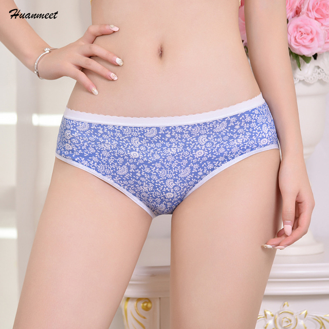 a74bdee7d7fd Huanmeet Sexy Womens Underwear Lingerie Women Briefs Seamless Ladies Panties  Panty Cotton Underpants Knickers Female Intimates