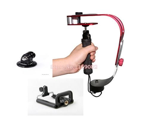 3in1 Professional Video Handheld Steadycam Steadicam Stabilizer + Tripod mount adapter + cellphone holder for Digital Camera