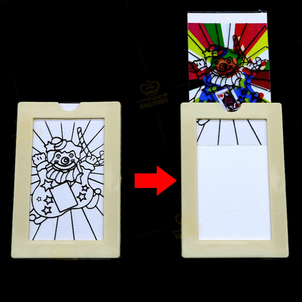 hot sale coloring frame magic tricks gift for children easy to dochina mainland