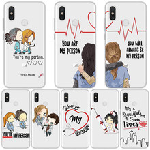 Чехол Greys Anatomy для Xiaomi Redmi Note 6 5 Plus 3 3S 4 Pro 4A 4X 6A 4 Global 4X 5A TPU You're My Person чехол для Redmi Note 5(China)