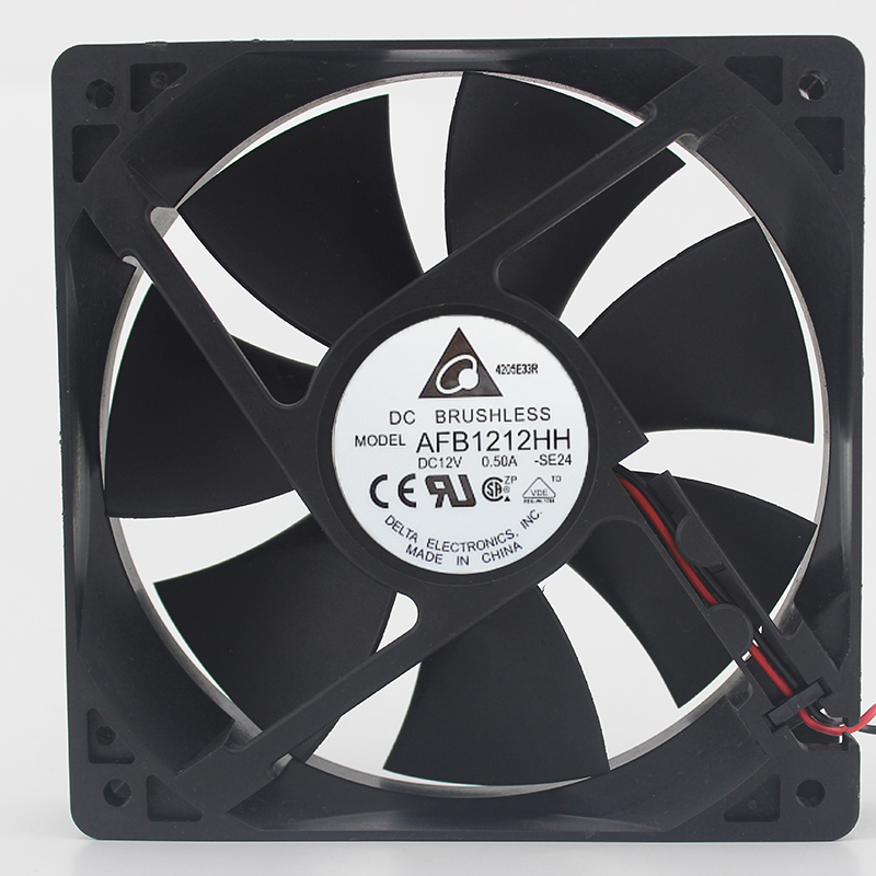 Brand New Original 12cm 12025 12V0.50A AFB1212HH Double Ball Cooling Fan