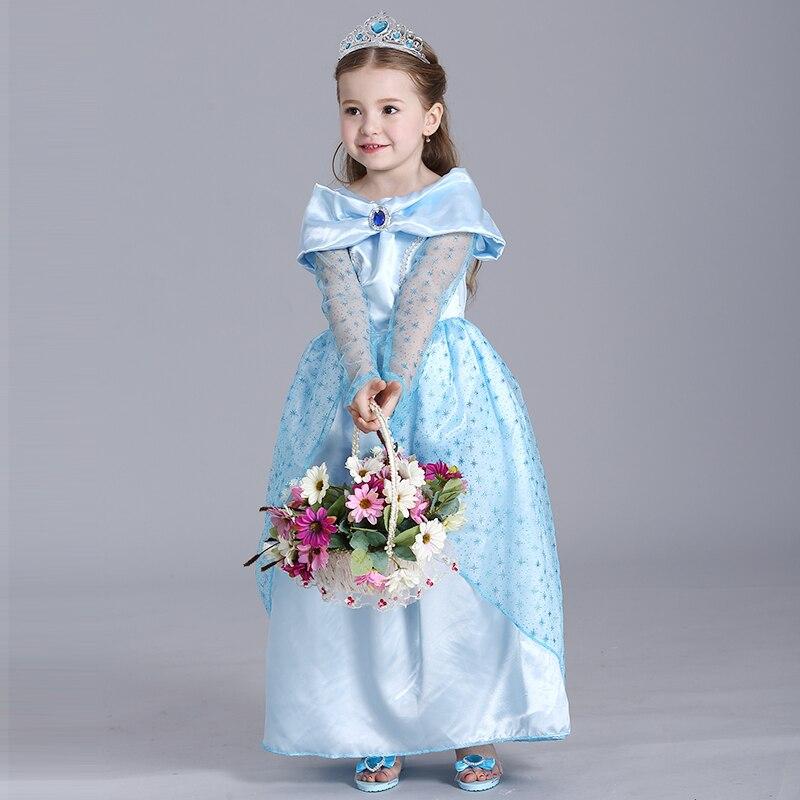 vestidos girl wedding dress princess dresses girl rapunzel costume