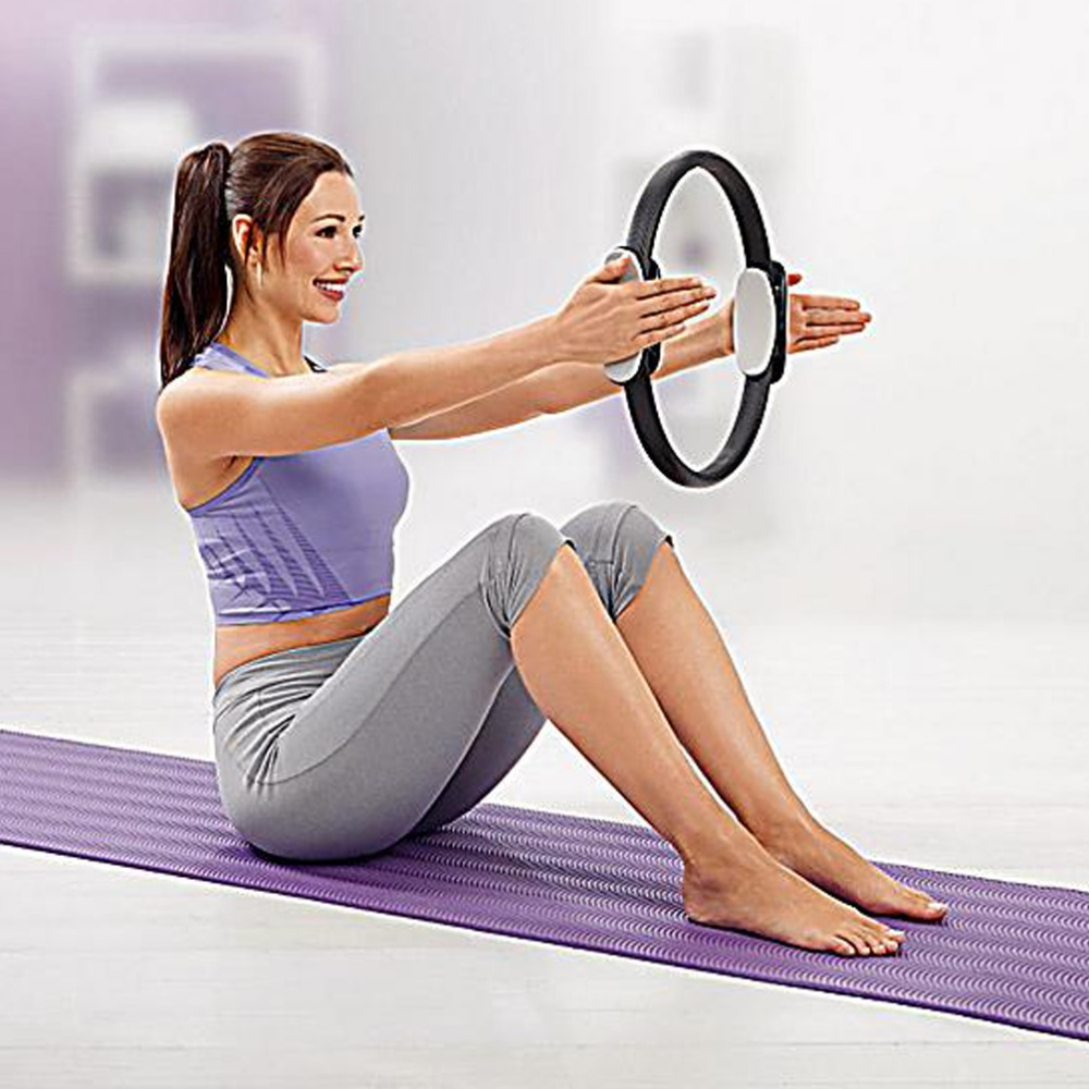 Yoga Resistance Pilates Ring Magic Circle Fitness to Lose ...