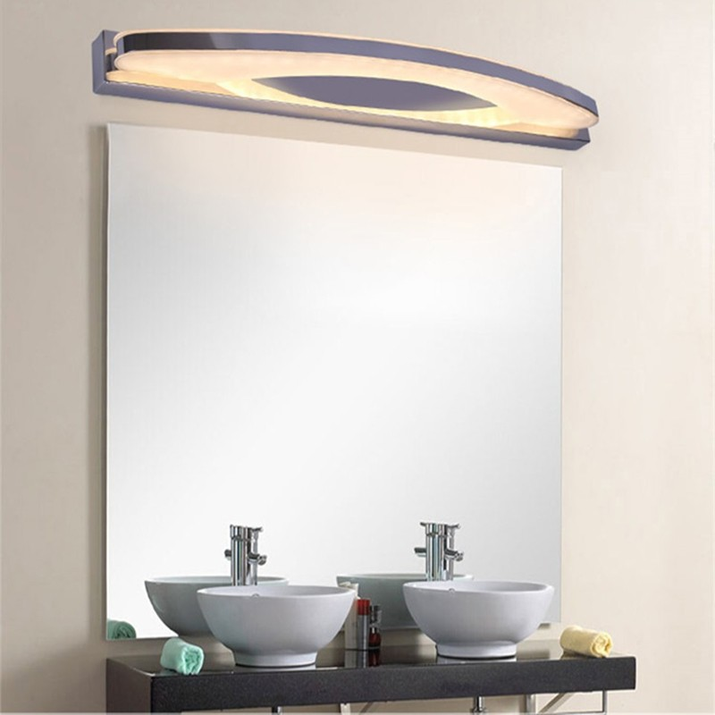 bright bathroom lighting bright modern bathroom led mirror light ac 85v 220v 12170