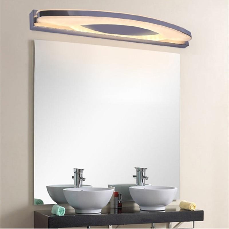 Super Bright Modern Bathroom Led Mirror Light AC 85V 220V ... on Bathroom Wall Sconce Lighting id=46903