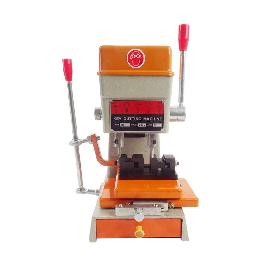 ФОТО Newest 220V/110V Key Cutting Machine 200W Key Duplicating Machine with Full Set Cutter Tools Part 368A