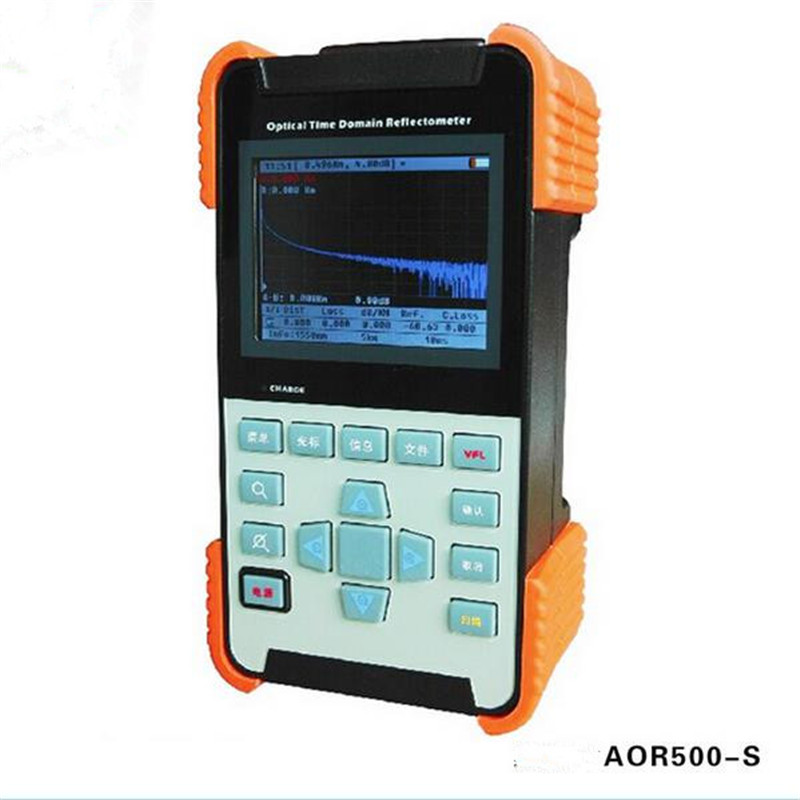 AOR-500S SM Optical Time Domain Reflectometer Fiber Optic OTDR Tester 24/22dB 1310nm/1550nm