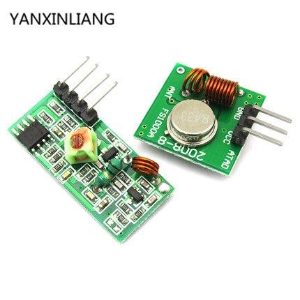 Smart Electronics 315Mhz RF transmitter receiver Module link kit  arduino/ARM/MCU WL diy 315MHZ/433MHZ wireless - WAVGAT Store store