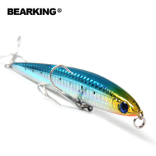 5pcs/lot  fishing lures Fishing tackle Bearking minnow hard baits 125mm 26g,sinking penceil bait, assorted colors Free shipping