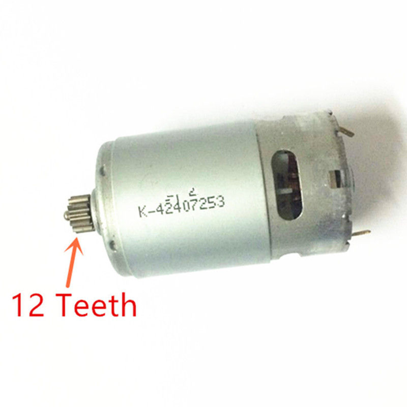 12 Teeth Motor Parts 14.4V Replacement for BOSCH GSR1440-LI  TSR1440-LI 2 609 199 378  Cordless Drill Driver  Screwdriver reducer box gear case for bosch 10 8v gsr12 2 li gsr10 8 2 li ps31 gsr12 li ps21 gsr10 8 15fc2 609 199 786 bacd 1 10 8v li