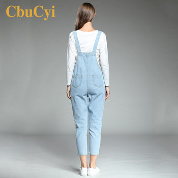 0f20a12048 CbuCyi Women's Jumpsuits Plus Size 5XL Loose Casual Straps Floral  Embroidered Jeans Rompers Womens Jumpsuits Overalls for Women