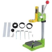Electric Power Bohrmaschine Stand Tisch Verstellbarer Arbeitstisch Reparatur Tool Klemme Bohren Spannzange Tisch Rotary 90 grad für Bohrer