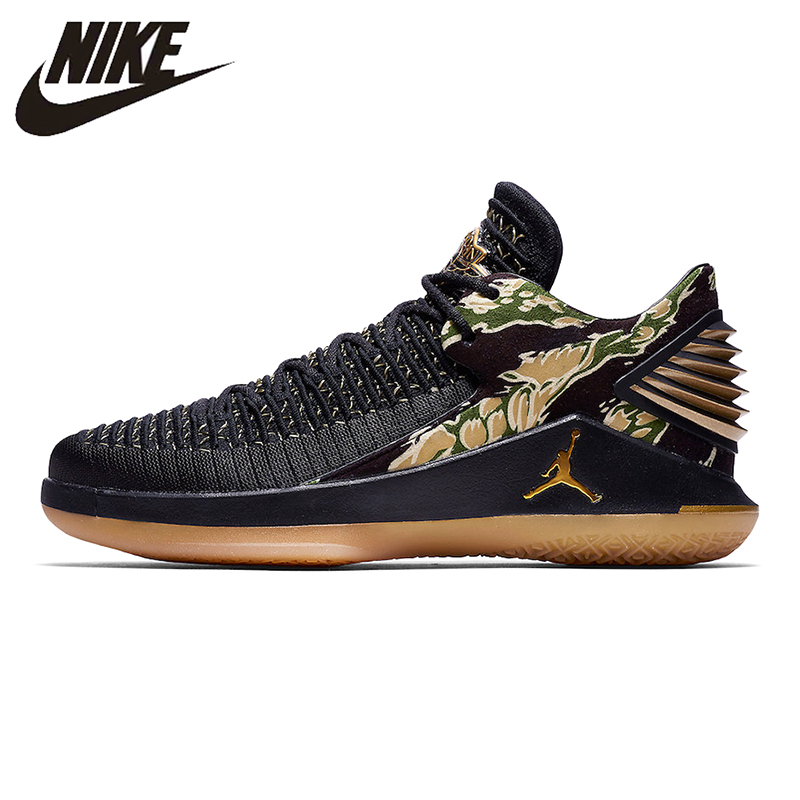 san francisco 0dbd0 6a307 US $153.44 30% OFF|Nike Air Jordan XXX2 Low Tiger Camo Men's Basketball  Shoes Non slip Lightweight Shock Absorption Breathable AH3347 021-in ...